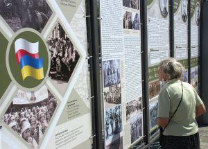 В Киеве открыли уличная выставка «1920: на захисті Європи від більшовизму»