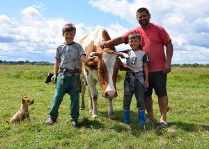 Рівненщина: Колишній заробітчанин відкрив молочну ферму