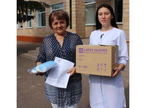 Черкащина: Аграрий подарил  школам шесть тысяч медицинских масок