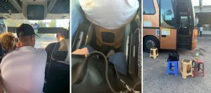 Карантин в автобусі на табуретках від КПВВ «Каланчак» до Чернівців