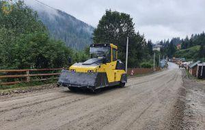 Начали ремонт дороги Славское — Хащованя