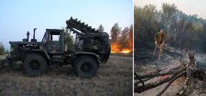 Луганщина: Специалисты говорят об умышленном поджоге