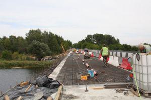 Луганщина: Движение по мосту  возобновится до конца года