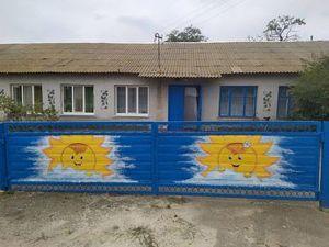 Херсонщина: В здании школы стирают одежду  и готовят лакомства
