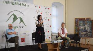 Ужгород: О выдающемся земляке  говорили  во дворике музея