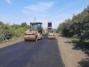 Днепропетровщина: Реконструировали областную трассу