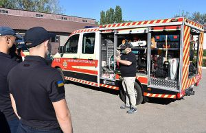 Кіровоградщина: Рятувальників навчали  користуватися  спецобладнанням