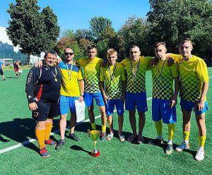 Черкассы: На спартакиаде победила  сборная команда ветеранов АТО