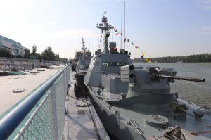 В Военно-Морских силах ВС Украины начались украинско- румынские учения «Риверайн-2020»