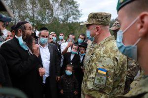 Черниговщина: Хасиды пытаются попасть в нашу страну