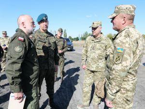 Делегація Війська Польського відвідала район проведення ООС