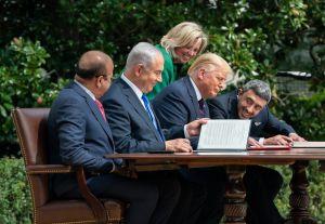 У Білому домі підписали історичні близькосхідні угоди