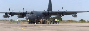Винница: Самолеты НАТО приземлились для совместных учений