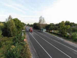 Житомирщина: Завершили ремонт ділянки траси