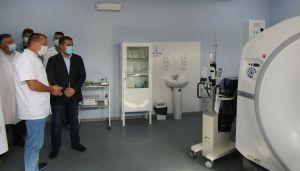 Луганщина: В обласній лікарні запрацював сучасний комп'ютерний томограф