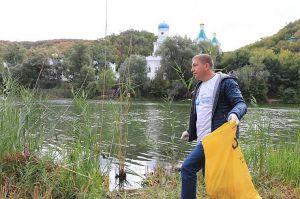 Донеччина: Розчистили узбережжя Сіверського Дінця