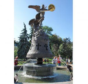 У столиці відкрито скульптурну композицію «Архангел Михаїл — захисник Києва»