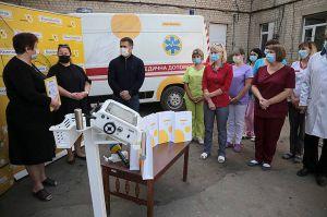 В Луганской области медики получили современное оборудование