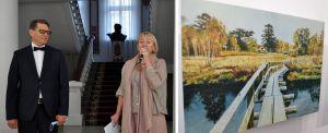 В Черкассах открыли выставку Романа Сущенко