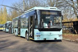 В Чернигове обновляют троллейбусный парк