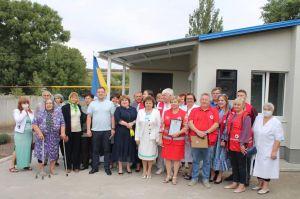 Донетчина: Реконструировать  амбулаторию помог Красный Крест