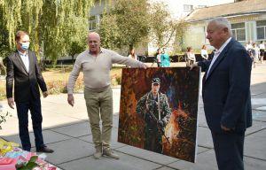 Чернігівщина: Митець увічнив воїна