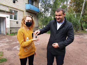 Житомирщина: Приобрели квартиру для сироты