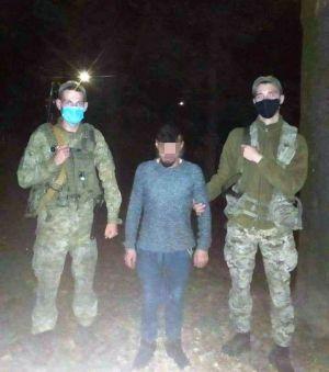 Закарпатье: Задержали нелегала