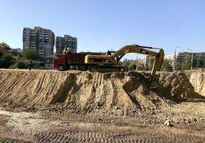 Дніпро: Відновлено будівництво об'їзної дороги