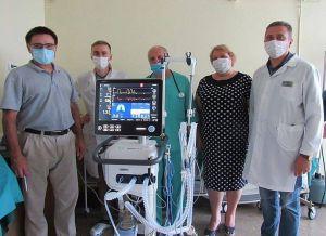 Черниговщина: Недешевый ИВЛ больница купила сама