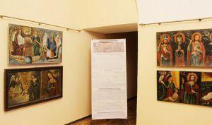 Виннитчина: Во дворце Потоцких представили  более 200 подольских икон