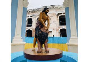 Киев: Отреставрировали старинный фонтан
