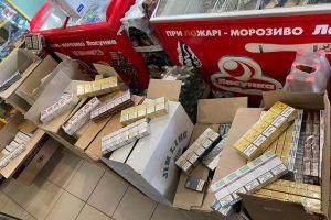 Донеччина: Правоохоронці вилучили контрафактні цигарки