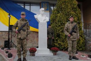 Львівщина: Відкрили пам'ятник сину Івана Франка