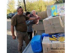 Виннитчина: Гуманитарный груз отправили защитникам