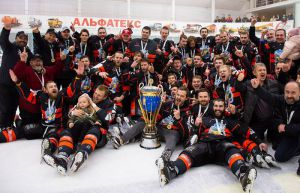Хокей: «Золотий» фініш «Кременчука»