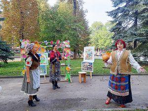 Житомир: Праздник урожая  отметили тыквой