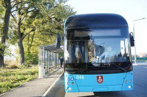 Вінниця: На маршрут вийшов тролейбус на автономному ходу
