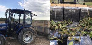 Закарпатье: Сигареты через границу — на тракторе
