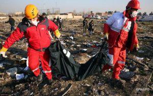 Причини авіакатастрофи у Тегерані мають бути з'ясовані