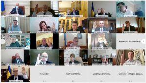 Уряд провів перше засідання в онлайн-режимі