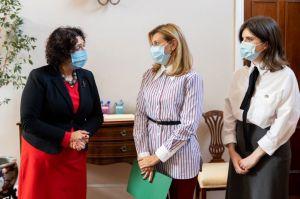 Олена Зеленська провела зустріч з жінками — послами іноземних держав