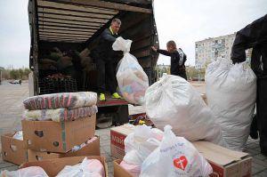 Луганщина: Гуманитарный груз доставлен по назначению