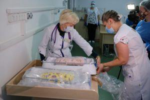 Черкасская область: Современное оборудование для маленьких пациентов