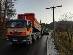 В горном Сколевском районе обустраивают дороги