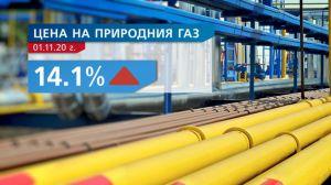 Природний газ у Болгарії з 1 листопада помітно подорожчав