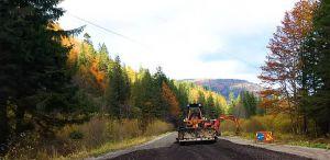 Прикарпатье: Восстанавливают трассу, соединяющую две области