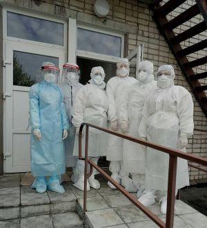 Черкасчина:  Готовят помещение под временный госпиталь