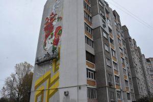 Чергигов: Петриковская роспись украсит многоэтажку
