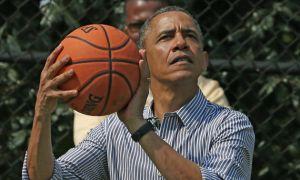 Колишній президент США Барак Обама продемонстрував свої баскетбольні навички